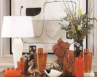 Global Views Orange Large Vase, , rollover