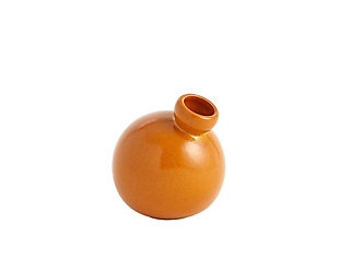 Global Views Ball Orange Small Vase, , large