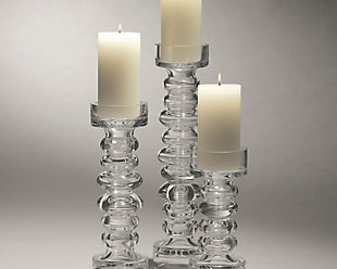 Global Views Ribbed Small Candleholder/Vase, , rollover