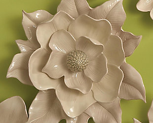 Global Views Wall Ivory Flower, , rollover