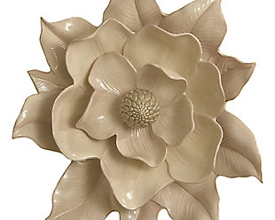 Global Views Wall Ivory Flower, , large
