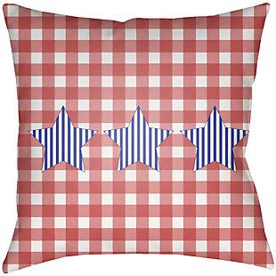 """Surya Patriotic 18""""H x 18""""W Pillow Kit, , large"""