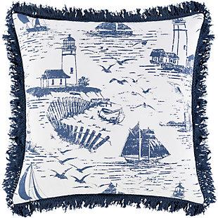 "Surya Castaway 20""H x 20""W Pillow Kit (Down Insert), , large"