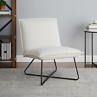 Linon Stiles Sherpa Chair, , rollover