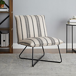 Linon Stiles Stripe Chair, , rollover