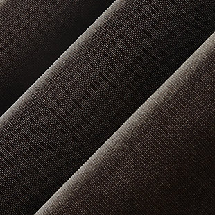 """Sun Zero Cameron Thermal Insulated 100% Blackout 50"""" x 108"""" Walnut Brown Grommet Curtain Panel, Walnut Brown, large"""