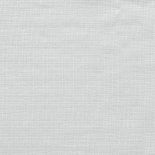 "No. 918 Hendricks Open Weave Cotton Semi-Sheer 50"" x 84"" White Rod Pocket Curtain Panel, White, large"