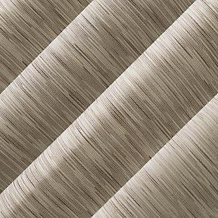 "Sun Zero Kamali Textured Strie Thermal Extreme 100% Blackout 50"" x 84"" Dune Grommet Curtain Panel, Dune, large"