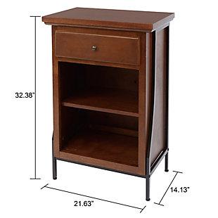 Blakely 2-Tier Floor Shelf, , large