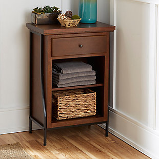 Blakely 2-Tier Floor Shelf, , rollover