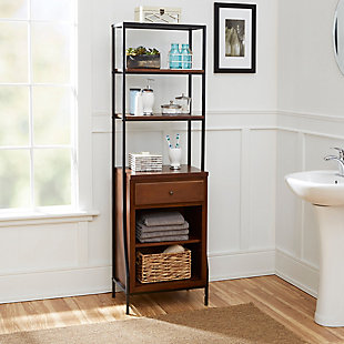 Blakely Storage Linen Cabinet, , rollover