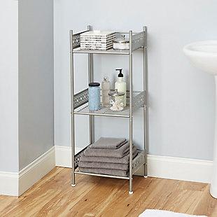 Filigree Floor Shelf, , rollover