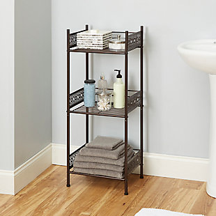 Filigree Floor Shelf, , rollover