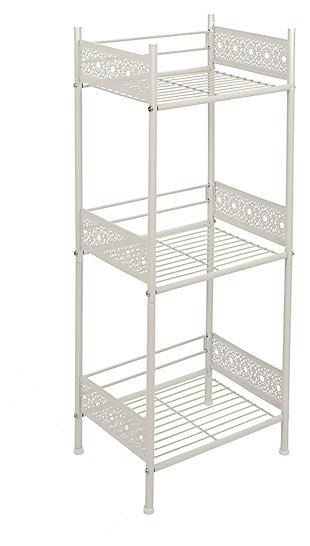 Filigree Floor Shelf