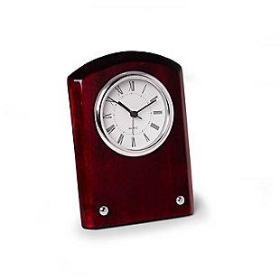 Berlin Mahogany Desk Clock, , rollover