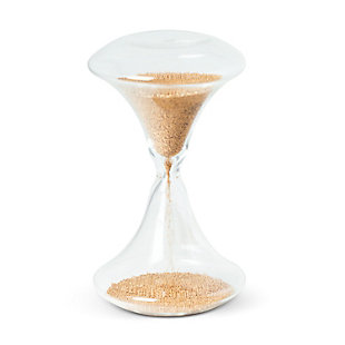 Mona Electroplated Bead Sand Timer, , large