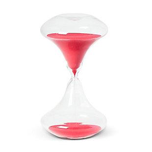 Jordan 45min Art Deco Sand Timer, Neon Red, rollover