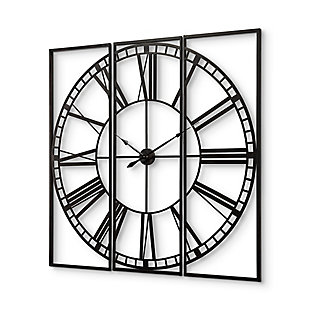 """Mercana Norwood 60"""" Square Oversized Industrial Wall Clock, , large"""