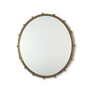 Mercana Elena II Medium Gold Wall Mirror, Gold, large