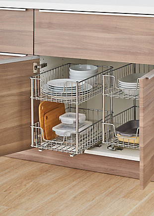 TRINITY 2-Tier Sliding Wire Drawer (2-Pack), , rollover