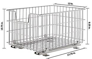 TRINITY Sliding Wire Basket (2-Pack), , large