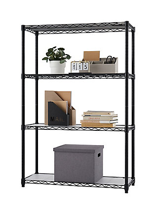 TRINITY 4-Tier Wire Shelving with Liners, , large