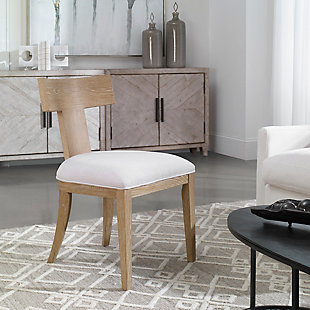 Uttermost Idris Armless Chair, , rollover