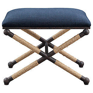 Uttermost Firth Small Fabric Bench, , large
