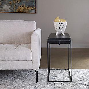 Uttermost Telone Modern Side Table, , rollover