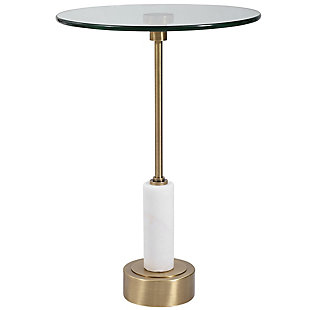 Uttermost Portsmouth Round Accent Table, , large