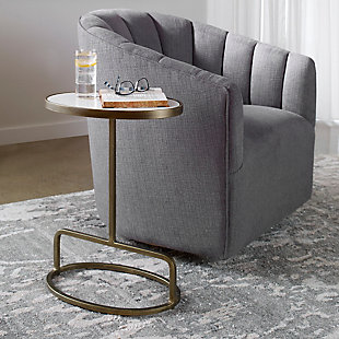 Uttermost Jessenia Marble Accent Table, , rollover