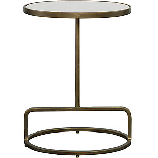 Uttermost Jessenia Marble Accent Table, , large