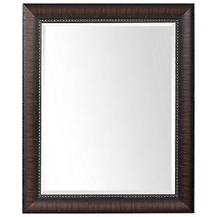 Uttermost Wythe Burnished Wood Mirror, , large