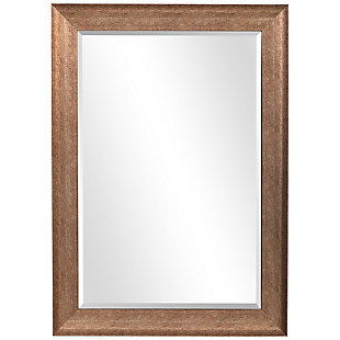Uttermost Pemberly Rustic Bronze Mirror, , large