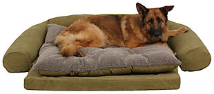 Ortho Large Sleeper Comfort Couch® Pet Bed, Sage, rollover