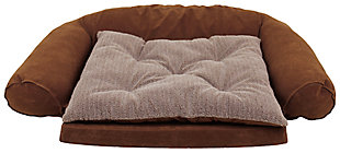 Ortho Medium Sleeper Comfort Couch® Pet Bed, Chocolate, large