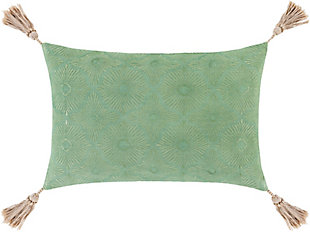 Surya Accra Woven Pillow, , large