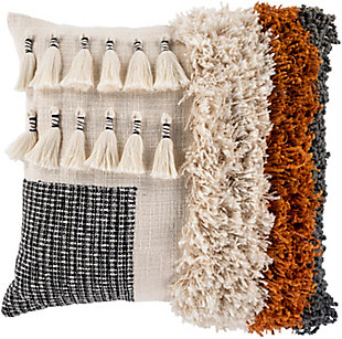 Surya Pelusa Multi Texture Pillow Cover, , large