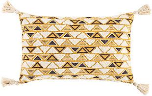 Surya Binga Geometric Pillow Cover, , rollover