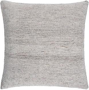 Surya Bonnie Pillow, Gray, rollover