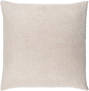 Surya Sallie Pillow Cover, Cream, large