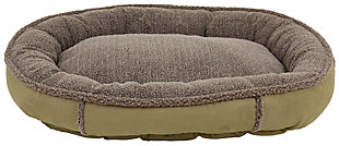 Berber Small Round Comfy Cup® Pet Bed, , large