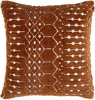 Surya Kabela Pillow Cover, Camel, rollover