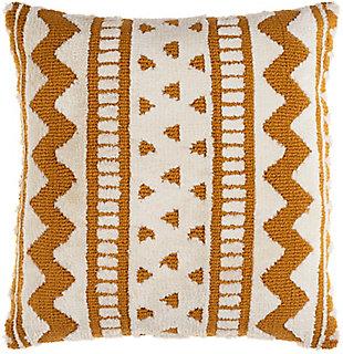 Surya Kabela Pillow Cover, Mustard, rollover