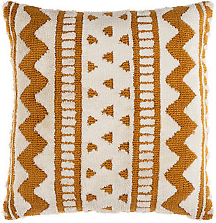 Surya Kabela Pillow Cover, Mustard, large