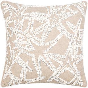 Surya Maricopa Pillow, Beige, rollover