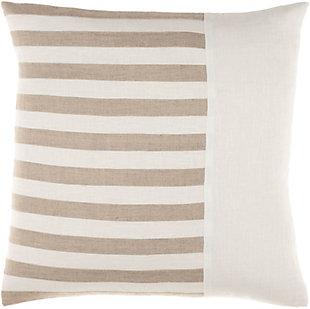 Surya Roxbury Pillow, Cream, rollover