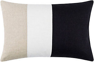 Surya Roxbury Pillow, Black, rollover