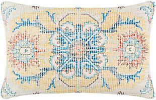 Surya Samsun Pillow Cover, Cream, large