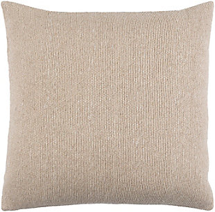 Surya Willa Pillow, Ivory, rollover